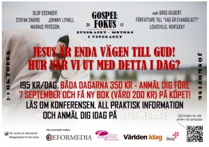 GOSPEL FOKUS affisch A4